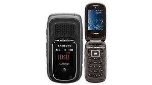 AT&T SAMSUNG RUGBY 4 IV B780A 3MP CAMERA PTT CONNECTIVITY WIFI Rugged Flip Phone