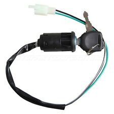 2 Wires Key Switch for ATVs Dirt Bikes with 2 Keys