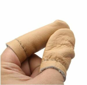 Leather Needle Felting for Thumb Index Finger Protector Thimble - UK SELLER