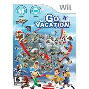 Go Vacation - Nintendo  Wii Game