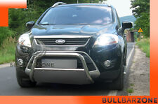 !+! FORD KUGA 2006-2012 TUBO PROTEZIONE MEDIUM BULL BAR INOX STAINLESS STEEL