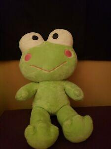 "Build A Bear Workshop Sanrio Keroppi Plush Green Frog Hello Kitty 18"""