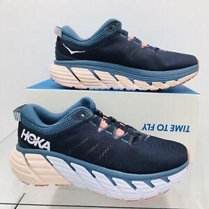 Hoka One One Gaviota 3 Ombre Blue/ Rosette Women's Running Shoes Size 9.5 B