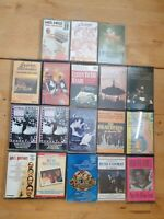 audio music cassette tapes bundle joblot x 18 as pictured mct01