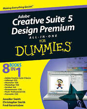(Very Good)-Adobe Creative Suite 5 Design Premium All-in-One For Dummies (Paperb