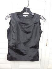 Angel Sanchez Concepto Blouse Women's Size 4 Black Top Work Casual Ladies Shirt