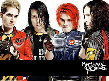"""088 My Chemical Romance - American Rock Band Music Star 19""""x14"""" Poster"""