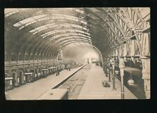 LONDON Paddington Railway Station Departure Platform PPC 1911