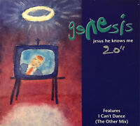 GENESIS JESUS HE KNOWS ME - [ CD MAXI ]