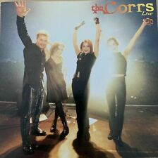 THE CORRS - LIVE (CD-1996) RARE JAPANESE IMPORT with song Lyrics.