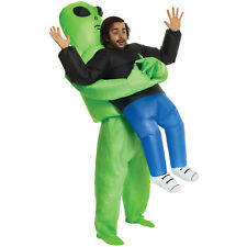 Alien Inflatable Pick Me Up Costume Adult  Scary Fancy Dress Stag Party Hallowen