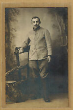 Carte Photo RPPC militaire régiment d'infanterie RI m087