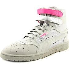 Zapatillas deportivas de mujer PUMA de tacón bajo (menos de 2,5 cm) de color principal gris