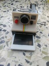 POLAROID LAND CAMERA Toy Miniature  OneStep Keychain. Push button/ picture pops.