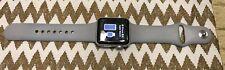 Apple Watch Series 3 38mm Silver Aluminum Case Gray Sport Band - (MTGG2LL/A)