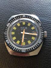 VINTAGE Prim Sport Dive Watch 17 Jewels Mechanical Works