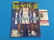 Elton Brand Lamar Odom Miles 2001 Beckett Magazine Mag Signed Auto JSA COA