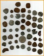 Big Lot Of 51 Ancient Coins Of Different Epocas-Medieval Rome-Xvi-Xvii-Xvii-Etc.
