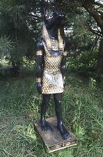 Ägyptische Figur 105 cm groß Dekofigur, ANUBIS, XXL, Gott, GARTEN STATUE