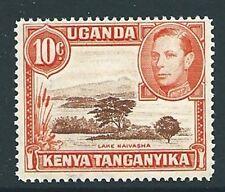 Kenya, Uganda & TANGANICA SG134b 1941 10 C PERF 14 MTD Nuovo di zecca