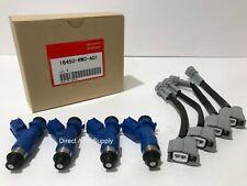 4 NEW OEM FUEL INJECTORS 410cc for ACURA HONDA 16450-RWC-A01