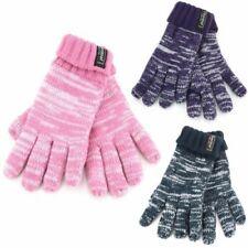 Mottled Kids Gloves Hawkins Knitted Warm Winter Lined Children