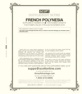 Scott 2019 Album Supplement for French Polynesia (MPN 625S019) - Brand New