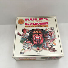 rules of the game for those of you who think you know  sports board game