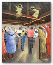 Angels in the Rafters Sarah Jenkins African American Art Print