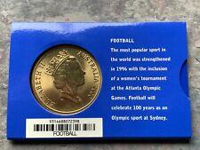 CB2147) Australia 2000 RAM Sydney 2000 Olympics Football $5 Bronze coin