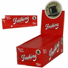 Smoking Rolling Paper Standard  Red Box of 50 Booklets
