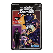 King Diamond Color Halloween Series Super 7 ReAction Action Figure New
