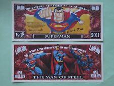 SUPERMAN (Clark Kent): Comic Book Hero ~*~ $1,000,000 One Million Dollars