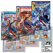 Peter Parker The Spectacular Spider-Man 1 J Scott Campbell EXCLUSIVE SIGNED ABC