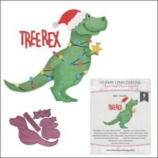 Tree Rex metal Die set - Cheery Lynn Cutting Dies Christmas dinosaur B921