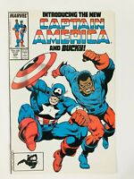 CAPTAIN AMERICA #334 (1987)   LEMAR HOSKINS BECOMES BUCKY; SIDEKICK JOHN WALKER