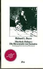 Richard L. Boyer - Sherlock holmes: Die Riesenratte von Sumatra