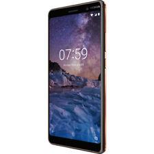 """Nokia 7 PLUS DUALSIM 64gb LTE Smartphone Android 6"""" Display Nero"""