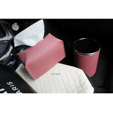 Urethane Leather Tissue Box Covers Tissue Case Cover Tissue Holder Dry Rose