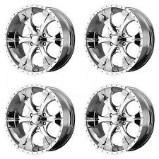 16x8 HELO HE791 Maxx 6x139.7/6x5.5 0 6H Chrome Wheel New set(4)