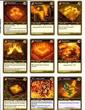MOLTEN CORE RAID: WOW WARCRAFT TCG  2007 LOT OF 43/53 CARDS NM/M