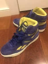 Vintage/Limited Reebok Bb4600 Lakers Purple Suede Mens Size 8