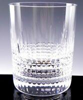 "Baccarat France Crystal 3-3/4"" NANCY OLD FASHIONED TUMBLER Unused"
