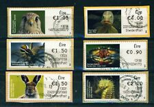 IRELAND - 2012 Animal and Marine Life Stamps on a Roll Used CDS Full set of 8