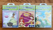 Lot of 3 Leap Frog Leapster/Leapster 2 Disney Princess/Fairies Learning Game