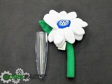 1998-2010 VW Volkswagen Beetle Clear Bud Vase WITH White Flower Daisy GENUINE OE