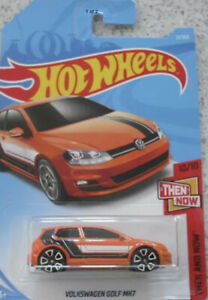 HOT WHEELS 2018 HW THEN AND NOW VW VOLKSWAGEN GOLF MK7 CAR 21