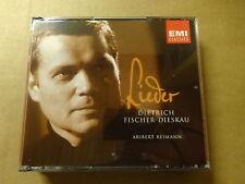 3 CD BOX / LIEDER - FISCHER - DISKAU - REIMANN (EMI)