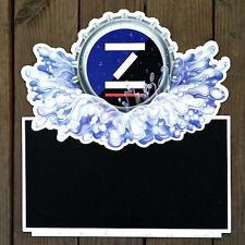 Original ZIMA COORS CHALKBOARD Beer Metal Sign 1990s NOS Unused Stock