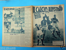 1951 il calcio illustrato n. 10 milan juventus palermo genoa silvio piola